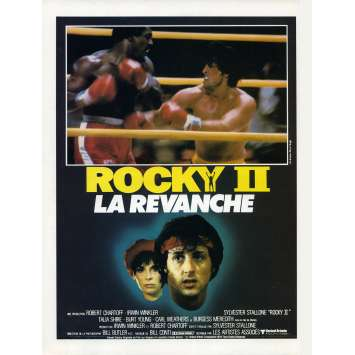 ROCKY 2 Synopsis - 21x30 cm. - 1979 - Carl Weathers, Sylvester Stallone