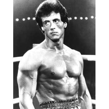 ROCKY 3 Photo de presse N01 - 18x24 cm. - 1982 - Mr. T, Sylvester Stallone