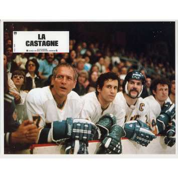 LA CASTAGNE Photo de film N06 - 21x30 cm. - 1977 - Paul Newman, George Roy Hill