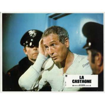 LA CASTAGNE Photo de film N03 - 21x30 cm. - 1977 - Paul Newman, George Roy Hill