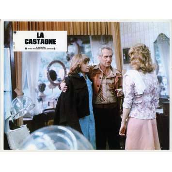 LA CASTAGNE Photo de film N02 - 21x30 cm. - 1977 - Paul Newman, George Roy Hill