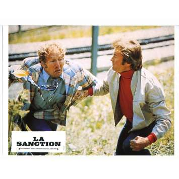 LA SANCTION Photo de film N05 - 21x30 cm. - 1975 - George Kennedy, Clint Eastwood