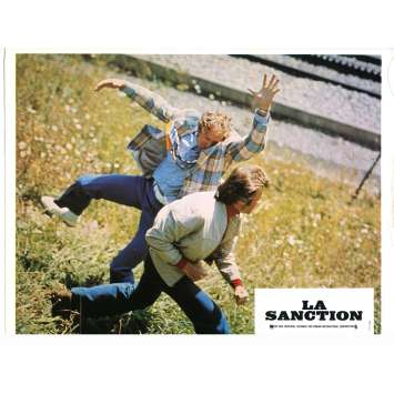 LA SANCTION Photo de film N04 - 21x30 cm. - 1975 - George Kennedy, Clint Eastwood
