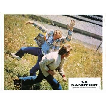 THE EIGER SANCTION Lobby Card N04 - 9x12 in. - 1975 - Clint Eastwood, George Kennedy