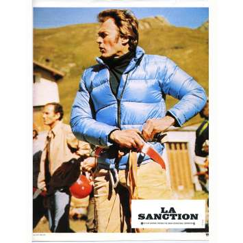 LA SANCTION Photo de film N02 - 21x30 cm. - 1975 - George Kennedy, Clint Eastwood