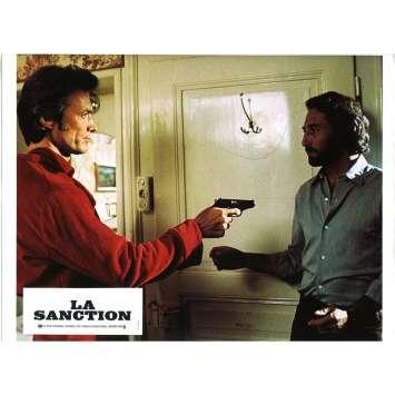 THE EIGER SANCTION Lobby Card N01 - 9x12 in. - 1975 - Clint Eastwood, George Kennedy