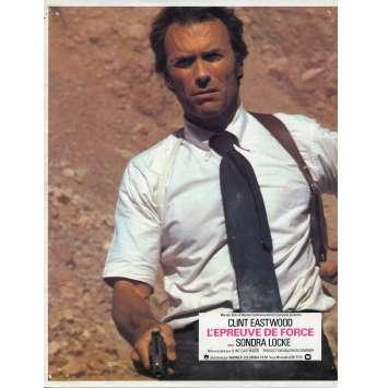 THE GAUNTLET Lobby Card N02 - 9x12 in. - 1977 - Clint Eastwood, Sondra Locke