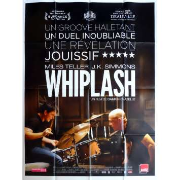 WHIPLASH Affiche de film 120x160 - 2015 - Miles Teller, Damien Chazelle