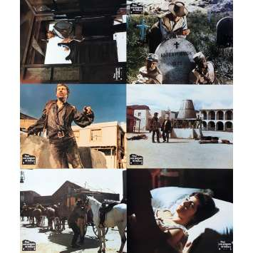 A FISTFUL OF DOLLARS Lobby Cards x6 - 9x12 in. - R1970 - Sergio Leone, Clint Eastwood