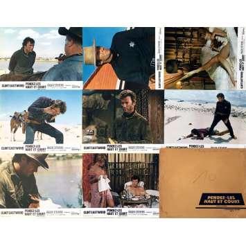 PENDEZ-LES HAUT ET COURT Photos de film x8 - Jeu A - 21x30 cm. - 1968 - Clint Eastwood, Ted Post