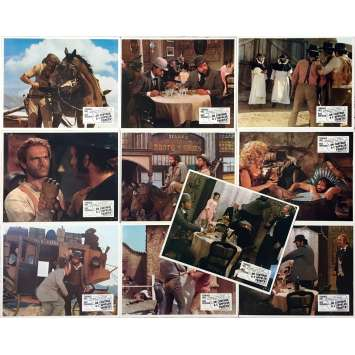 TRINITY IS STILL MY NAME Lobby Cards x10 - 9x12 in. - 1971 - Enzo Barboni, Terence Hill, Bud Spencer