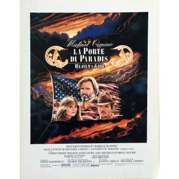 HEAVEN'S GATE Herald - 9x12 in. - 1980 - Michael Cimino, Christopher Walken