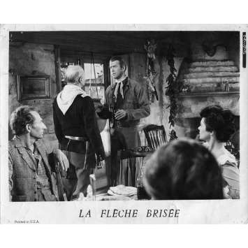 LA FLECHE BRISEE Photo de presse N01 - 20x25 cm. - 1950 - James Stewart, Delmer Daves