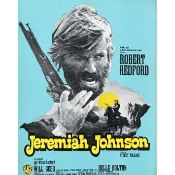 JEREMIAH JOHNSON Herald - 9x12 in. - 1972 - Sidney Pollack, Robert Redford