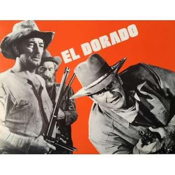 EL DORADO Herald - 9x12 in. - 1967 - Howard Hawks, John Wayne, Robert Mitchum