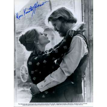 HEAVEN'S GATE Original Still Signed in person by Kris Kristofferson - 1980