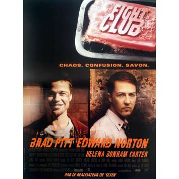 FIGHT CLUB Movie Poster - 15x21 in. - 1999 - David Fincher, Brad Pitt
