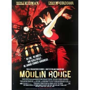 MOULIN ROUGE Affiche de film - 40x60 cm. - 2001 - Nicole Kidman, Baz Luhrmann
