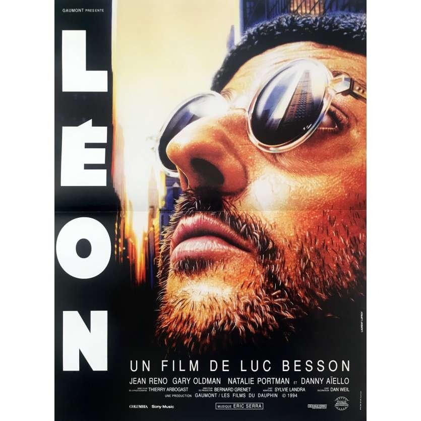 LEON Affiche de film - 40x60 cm. - 1994 - Natalie Portman, Luc Besson