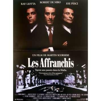 LES AFFRANCHIS Affiche de film - 40x60 cm. - 1990 - Robert de Niro, Martin Scorsese