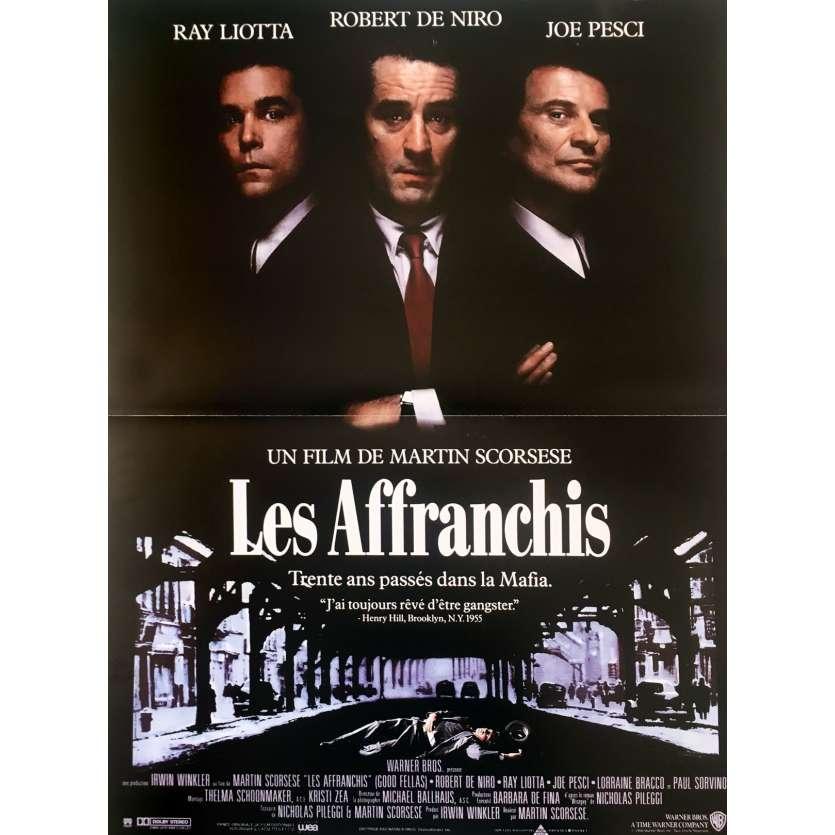 GOODFELLAS Movie Poster - 15x21 in. - 1990 - Martin Scorsese, Robert de Niro