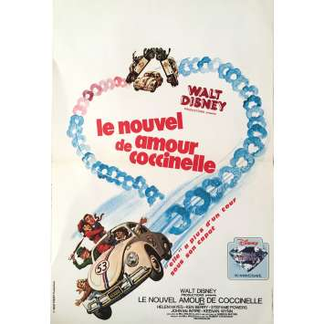HERBIE Movie Poster - 15x21 in. - R1980 - Walt Disney, Stephanie Powers