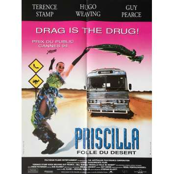 PRISCILLA QUEEN OF THE DESERT Movie Poster - 23x32 in. - 1994 - Stephan Elliot, Terence Stamp