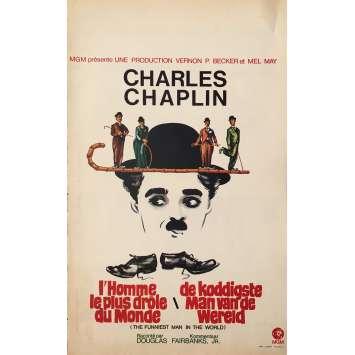 CHARLES CHAPLIN Affiche de film - 35x55 cm. - 1970'S - Charlie Chaplin, Charlie Chaplin