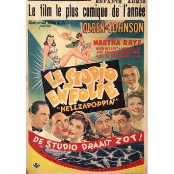 HELLZAPOPPIN Affiche de film - 35x55 cm. - 1941 - Ole Olsen, H.C. Potter