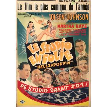 HELLZAPOPPIN' Movie Poster - 14x21 in. - 1941 - H.C. Potter, Ole Olsen