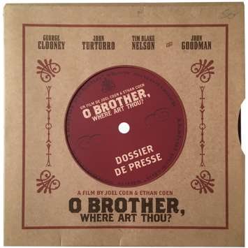 O' BROTHER WHERE ART THOU ? Pressbook - 9x12 in. - 2000 - Joel Coen, George Clooney
