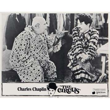 THE CIRCUS Lobby Cards N08 - 11x14 in. - R1970 - Charles Chaplin, Charlot