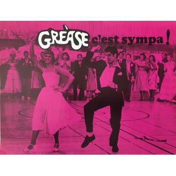 GREASE Synopsis - 21x30 cm. - 1978 - John Travolta, Randal Kleiser