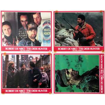 VOYAGE AU BOUT DE L'ENFER Photos de film x4 - 28x36 cm. - 1978 - Robert de Niro, Michael Cimino