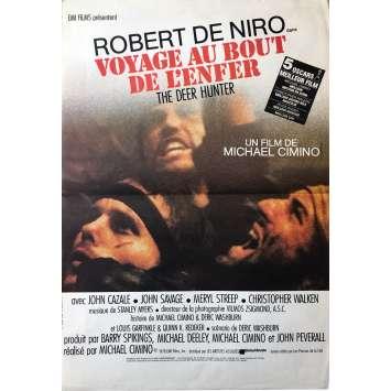 VOYAGE AU BOUT DE L'ENFER Affiche de film - 40x60 cm. - 1978 - Robert de Niro, Michael Cimino
