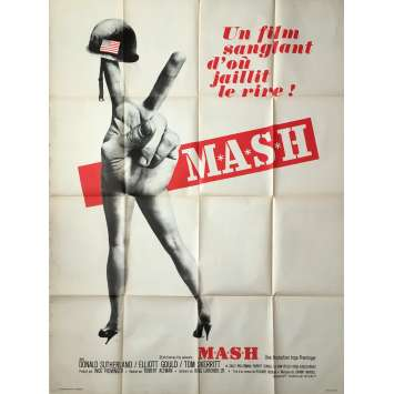 MASH Movie Poster - 47x63 in. - 1972 - Robert Altman, Donald Sutherland