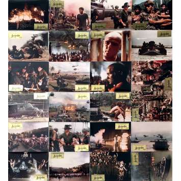 APOCALYPSE NOW Lobby Cards x24 - 10x12 in. - 1979 - Francis Ford Coppola, Marlon Brando