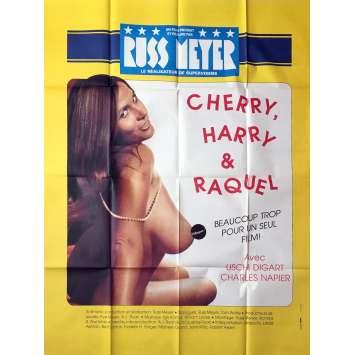 CHERRY, HARRY & RAQUEL Affiche de film Style B - 120x160 cm. - 1970 - Charles Napier, Russ Meyer