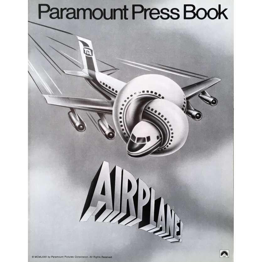 Y A T-IL UN PILOTE DANS L'AVION Dossier de presse - 20x25 cm. - 1980 - Leslie Nielsen, David Zucker
