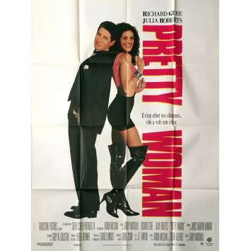 PRETTY WOMAN Affiche de film - 120x160 cm. - 1990 - Julia Roberts, Gary Marshall