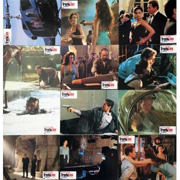 TRUE LIES Lobby Cards x12 - 47x63 in. - 1994 - James Cameron, Arnold Schwarzenegger