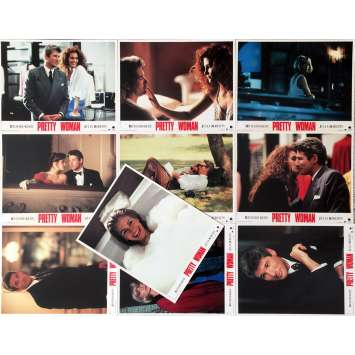 PRETTY WOMAN Lobby Cards x10 - 9x12 in. - 1990 - Gary Marshall, Julia Roberts