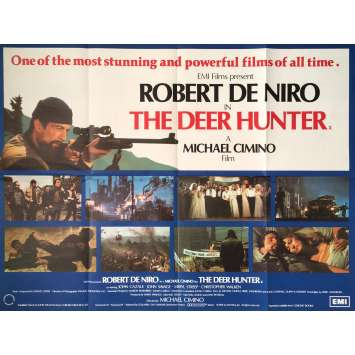 THE DEER HUNTER Movie Poster - 30x40 in. - 1978 - Michael Cimino, Robert de Niro
