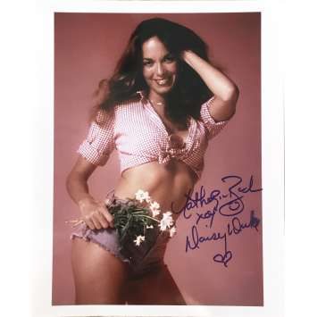 THE DUKES OF HAZZARD Signed Photo - 8x10 in. - 1990 - 0, Catherine Bach