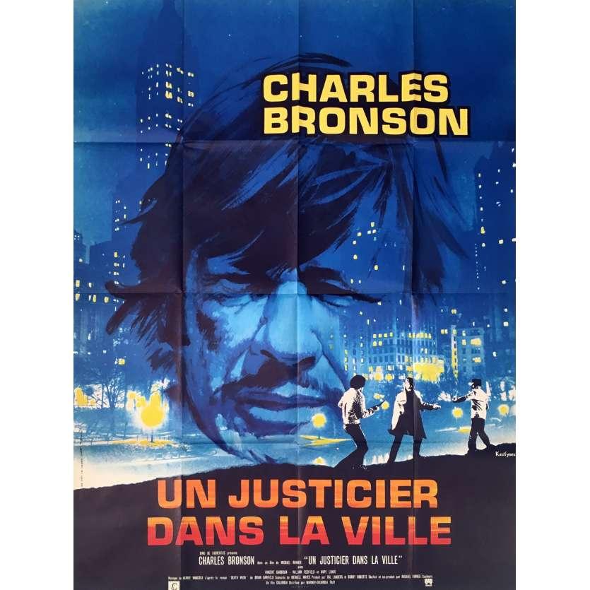 Mauvais-genres.com - CHARLES BRONSON Un justicier dans la ville Affiche française 1974