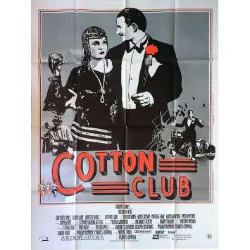 COTTON CLUB Affiche de film - 120x160 cm. - 1984 - Richard Gere, Francis Ford Coppola