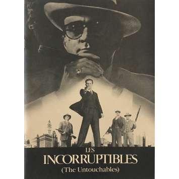 LES INCORRUPTIBLES Dossier de presse - 21x30 cm. - 1987 - Kevin Costner, Brian de Palma