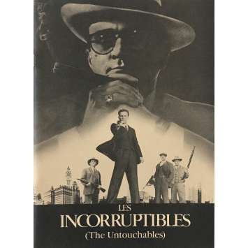 THE UNTOUCHABLES Pressbook - 9x12 in. - 1987 - Brian de Palma, Kevin Costner