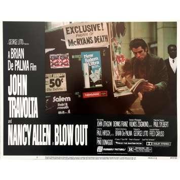 BLOW OUT Photo de film - 28x36 cm. - 1981 - John Travolta, Brian de Palma
