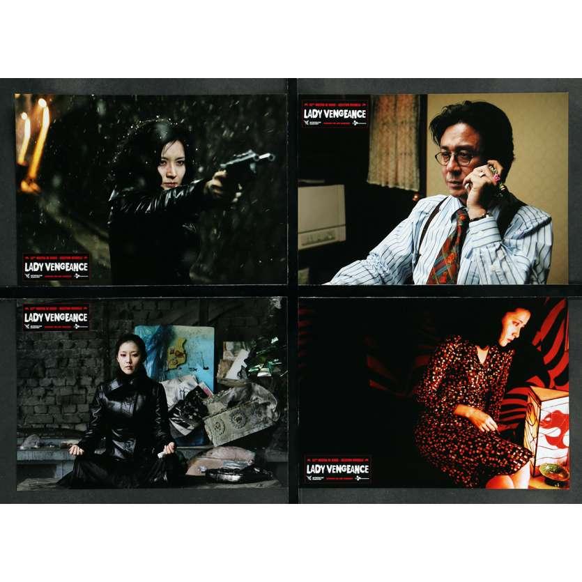 LADY VENGEANCE Photos de film x8 - 25x30 cm. - 2005 - Yeong-ae Lee, Chan-wook Park